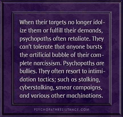 Narcissists target empaths