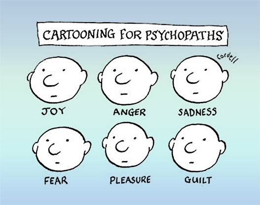 psychopath emotions