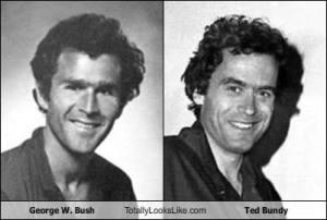 Ted Bundy George Bush