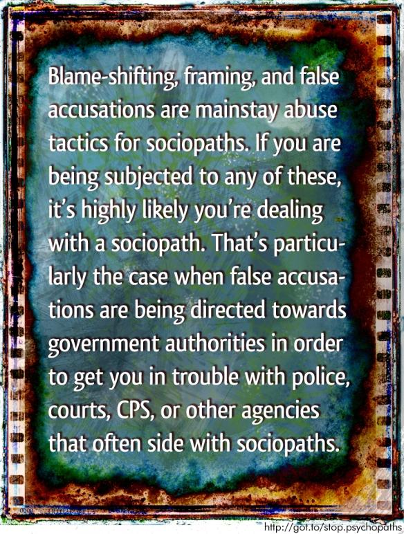 False Accusations