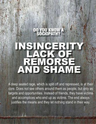 insincerity