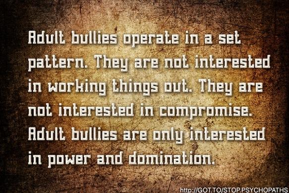 Adult Bullies
