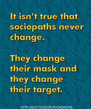 Sociopath Change