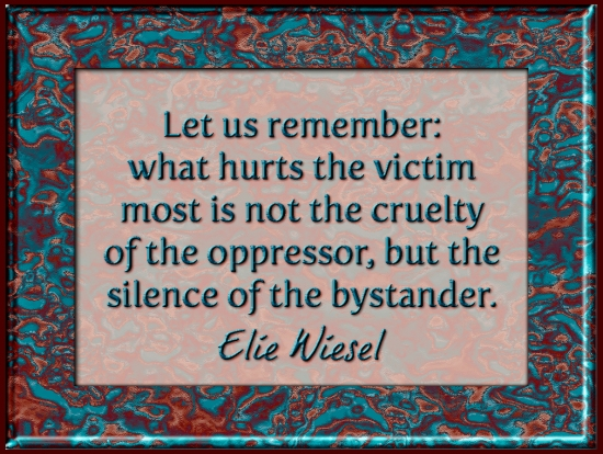 Elie Wiesel Quote Art