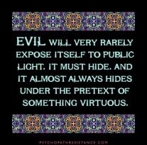 Virtuous Evil