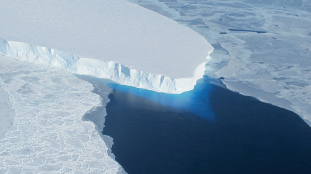 The Thwaites Glacier in Antarctica