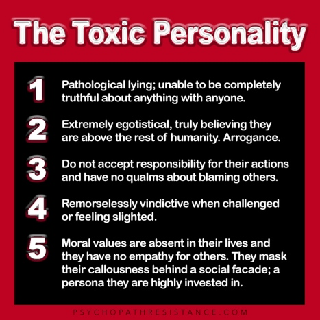 The Toxic Personality