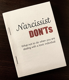 Narcissist Don'ts