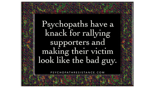 Psychopaths have a knack